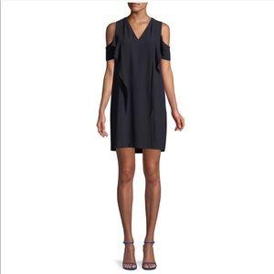 NWT Elie Tahari Micaela Cold-Shoulder Mini Dress 6